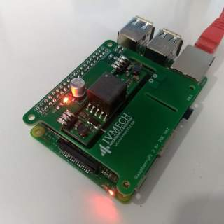 Raspberry Pi 3 Model B+ PoE Modülü