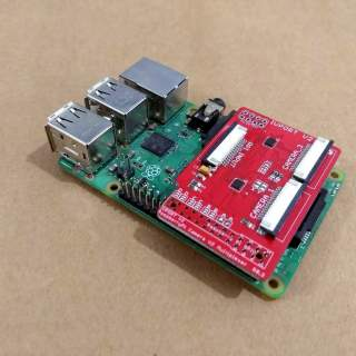 IVPort V2 Raspberry Pi Camera Module V2 Multiplexer