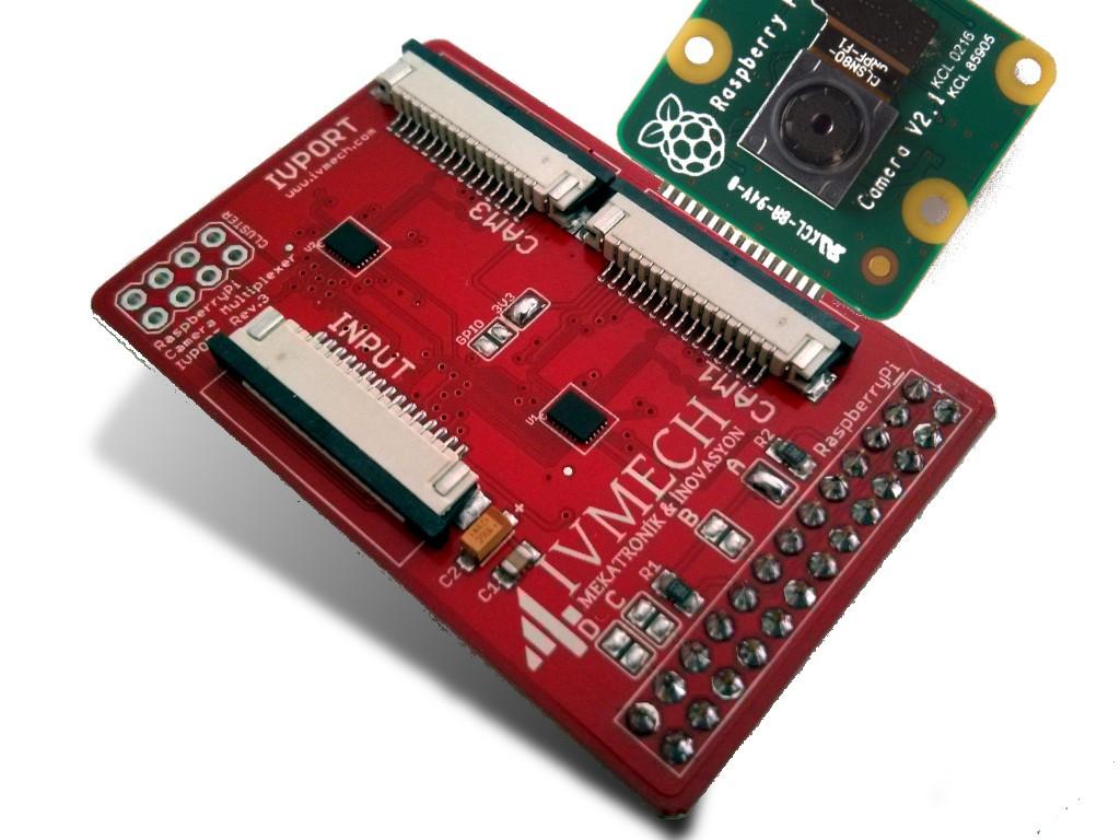 ivport v2 raspberry pi camera module v2 multiplexer development