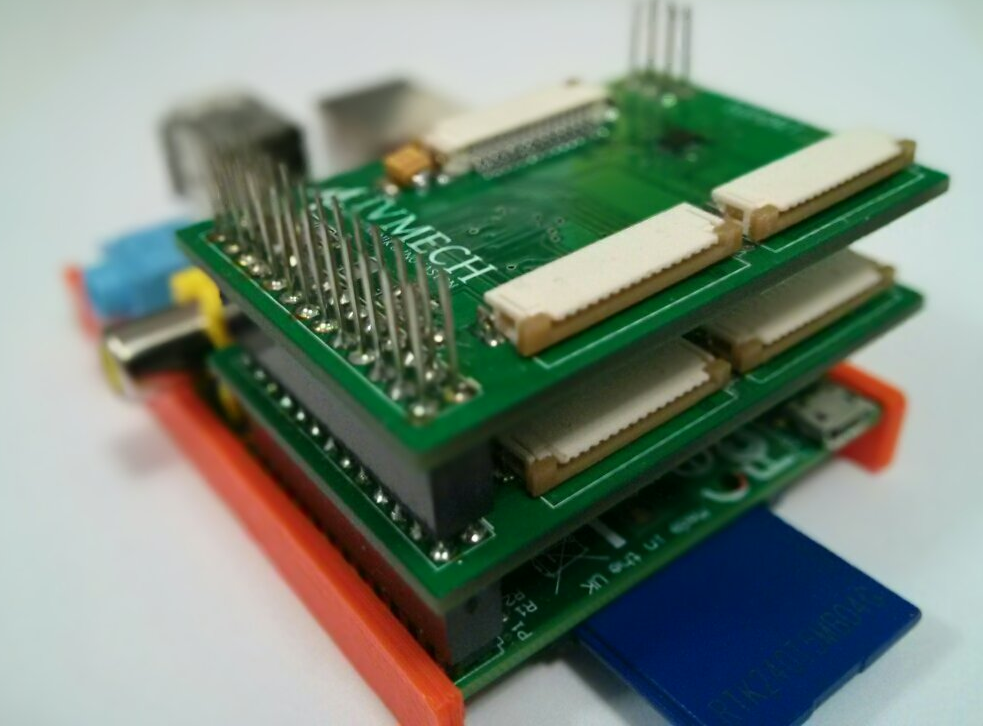 IVPort Raspberry Pi Camera Module Multiplexer